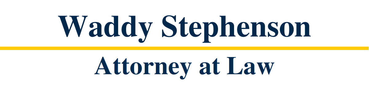 The Law Office of Waddy Stephenson